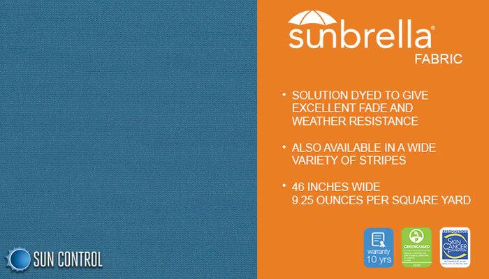 Sunbrella Solid Sapphire Blue