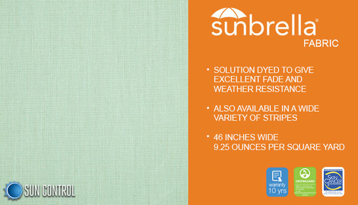 Sunbrella Solid Sea