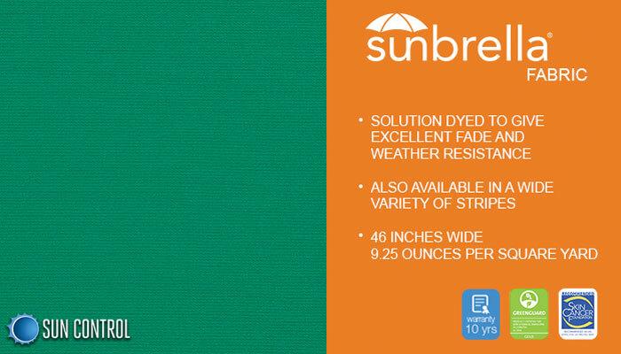 Sunbrella Solid Seagrass Green