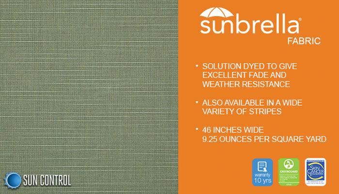 Sunbrella Texture Silica Sage
