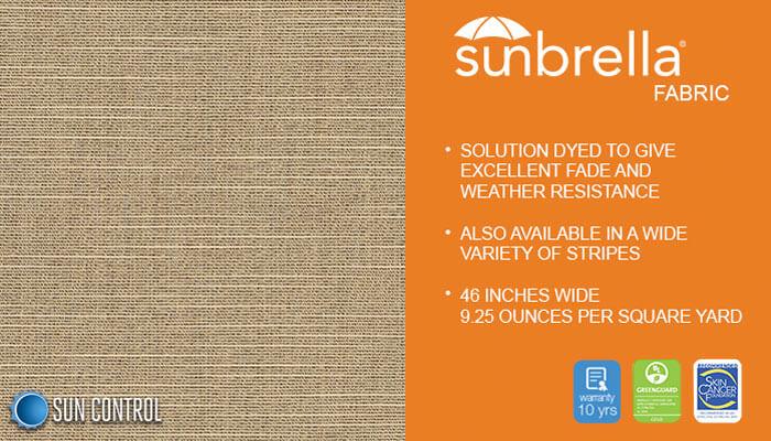 Sunbrella Texture Silica Dune