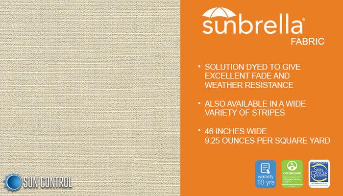 Sunbrella Texture Silica Silver