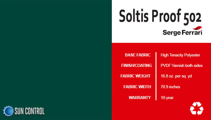 Soltis Proof 502 Spruce
