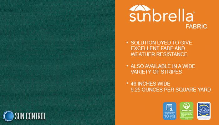 Sunbrella Solid Spruce