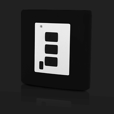 Surface Mounted Control 1 ch Black