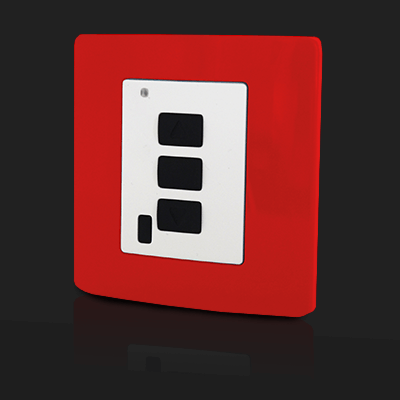 Surface Mounted Control 1 ch Red