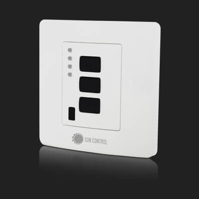 Surface Mounted Control 4 ch White