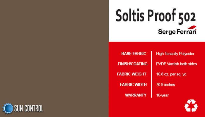 Soltis Proof 502 Teak