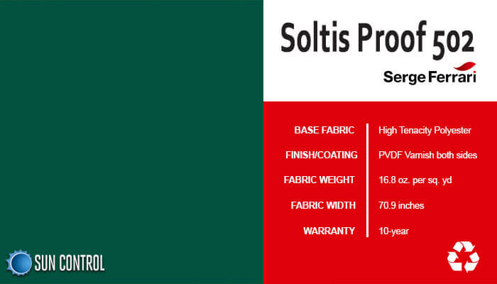 Soltis Proof 502 Tennis Green