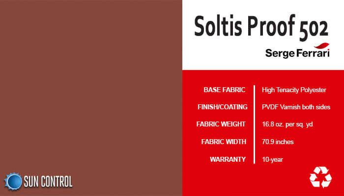 Soltis Proof 502 Terracotta