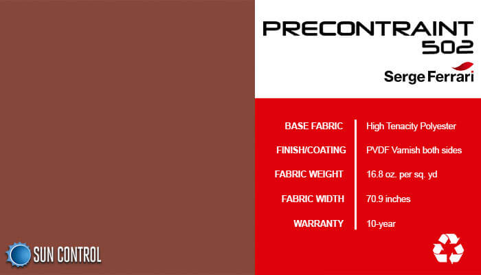 Precontraint 502 Terracotta