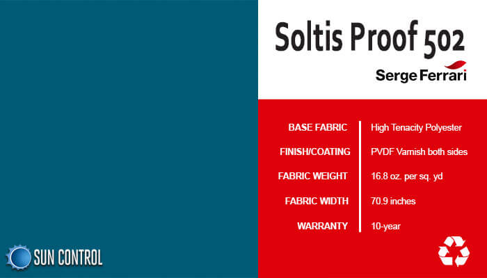 Soltis Proof 502 Thistle Blue