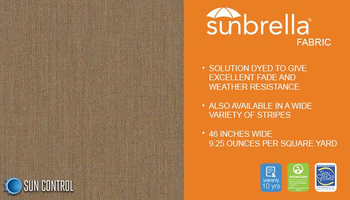 Sunbrella Texture Tresco Birch