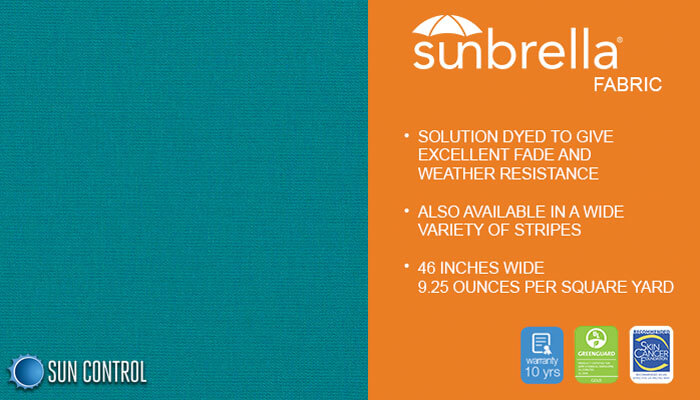Sunbrella Solid Turquoise