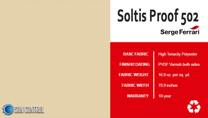 Soltis Proof 502 Vanilla