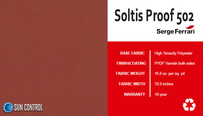 Soltis Proof 502 Velvet Red