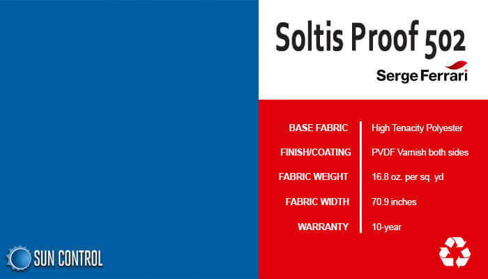 Soltis Proof 502 Victoria Blue