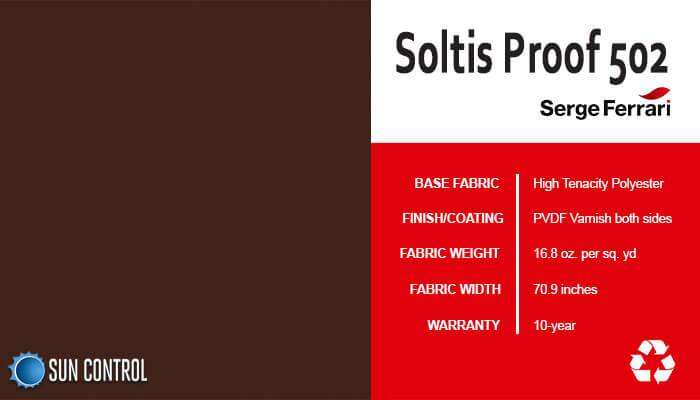 Soltis Proof 502 Walnut Stain
