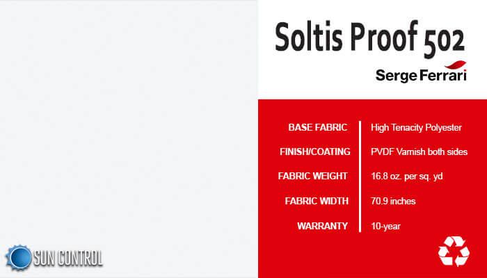 Soltis Proof 502 White