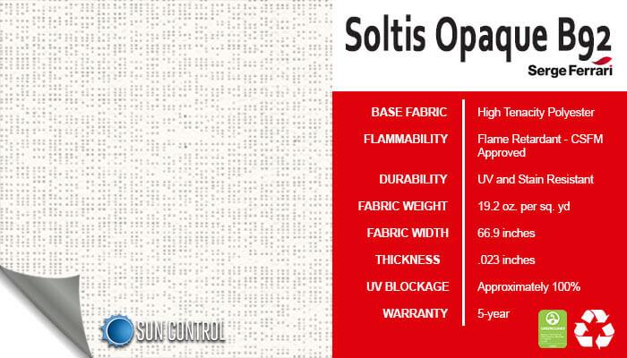 Soltis Opaque B92 White