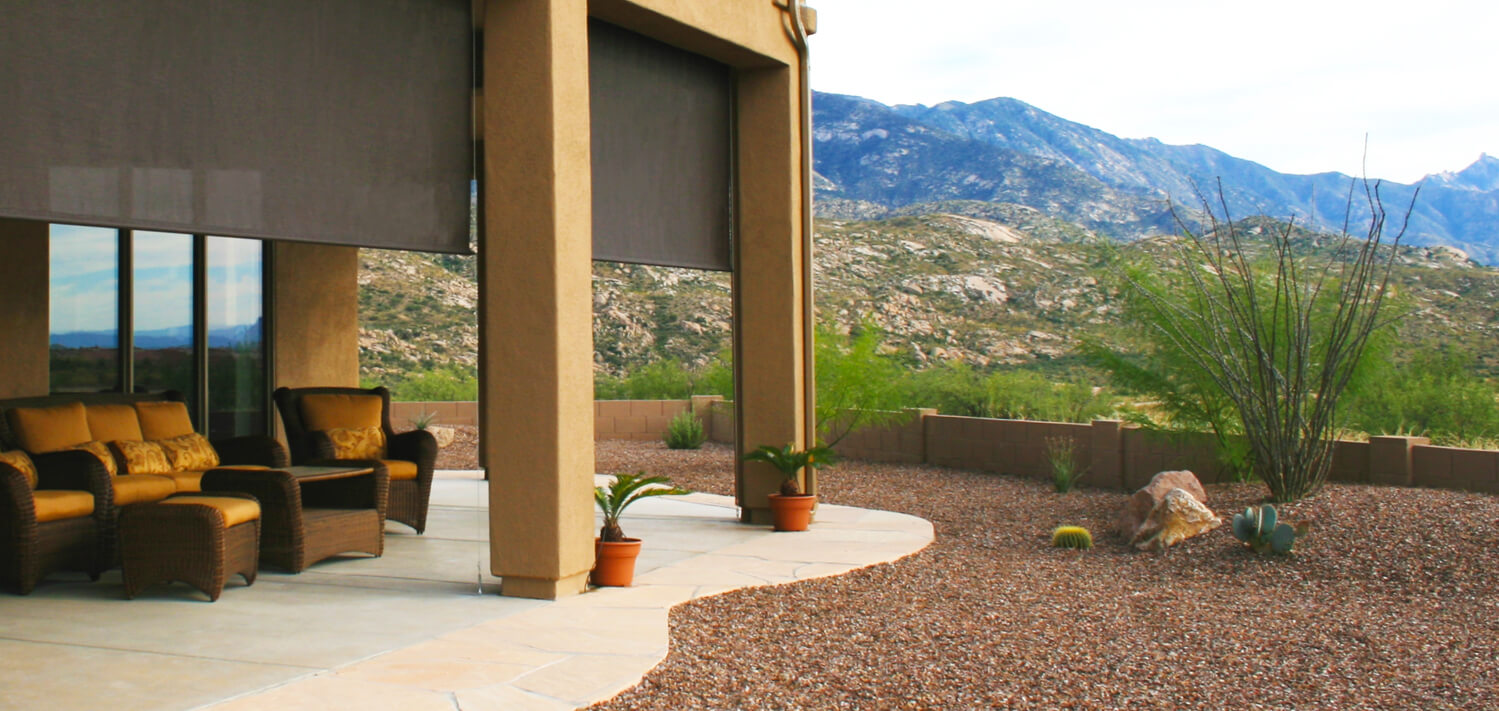 Delicieux SW Sun Control Shade Systems | Tucson, Arizona | Retractable ...